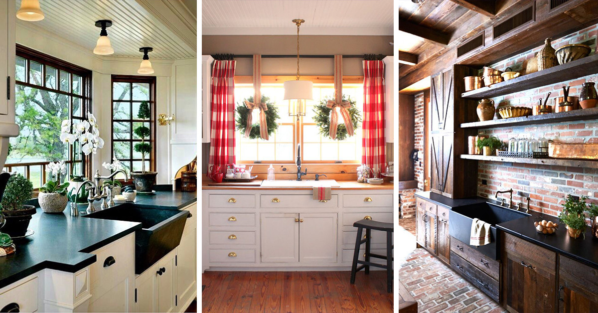 Best ideas about Country Kitchen Decorating Idea . Save or Pin 23 Best Rustic Country Kitchen Design Ideas and Now.