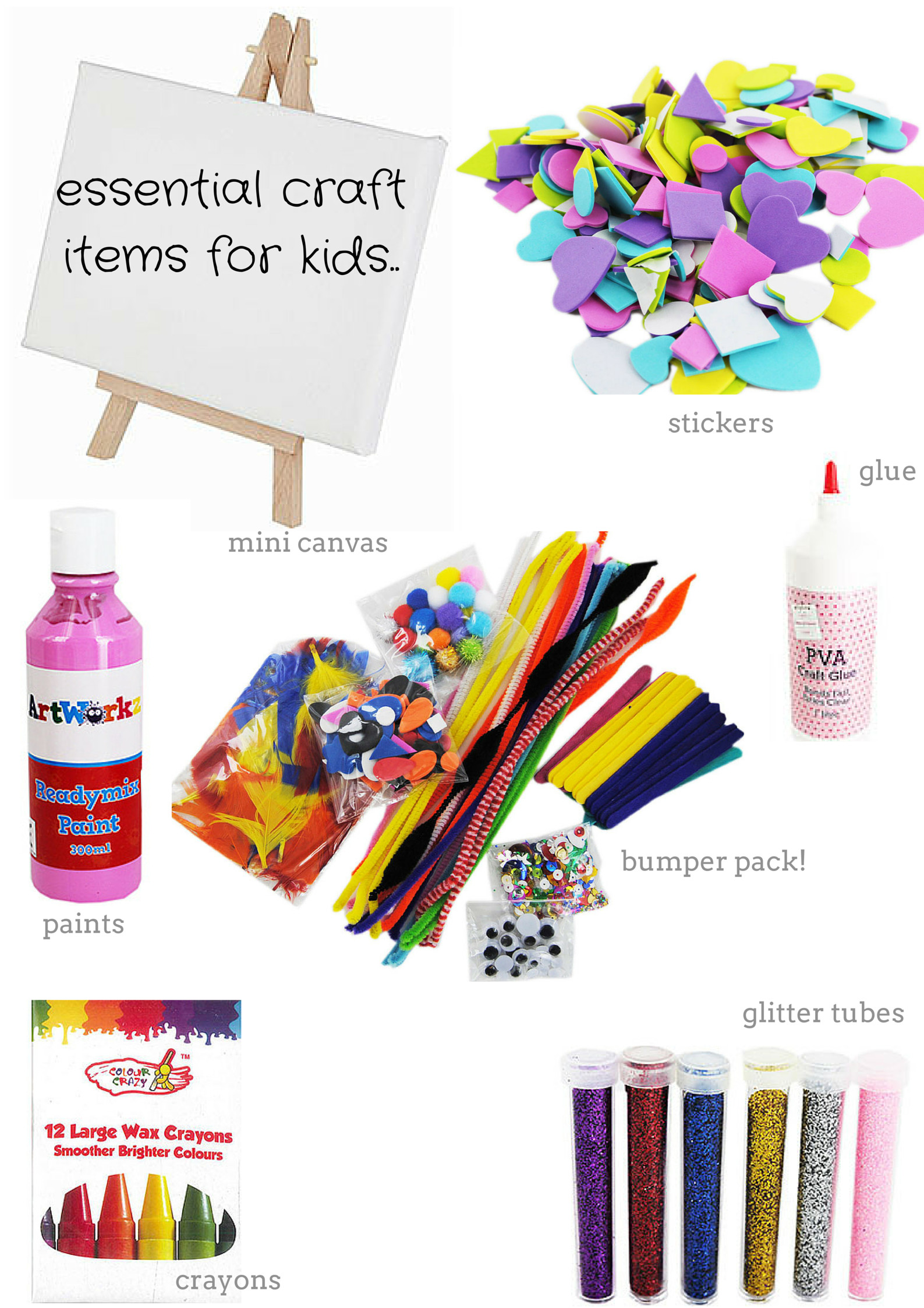 Best ideas about Craft Items For Kids . Save or Pin Essential craft items for kids MOTHERS WHO Now.