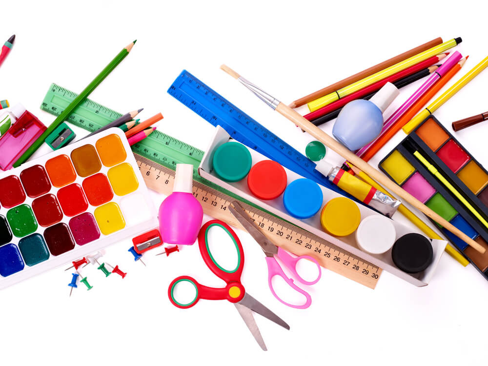 Best ideas about Craft Items For Kids . Save or Pin Organize Craft Supplies with 8 Household Items Now.