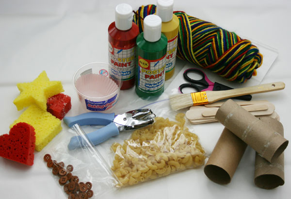 Best ideas about Craft Items For Kids . Save or Pin Essential craft supplies to keep in the house Now.