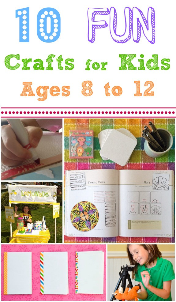 Best ideas about Crafts For Kids Ages 10 12 . Save or Pin Fun Crafts and Activities for Kids Ages 8 12 Inner Child Fun Now.
