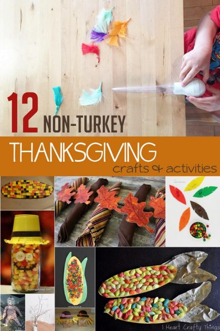 Best ideas about Crafts For Kids Ages 10 12 . Save or Pin 12 Non Turkey Thanksgiving Crafts for Kids to Make & Do Now.