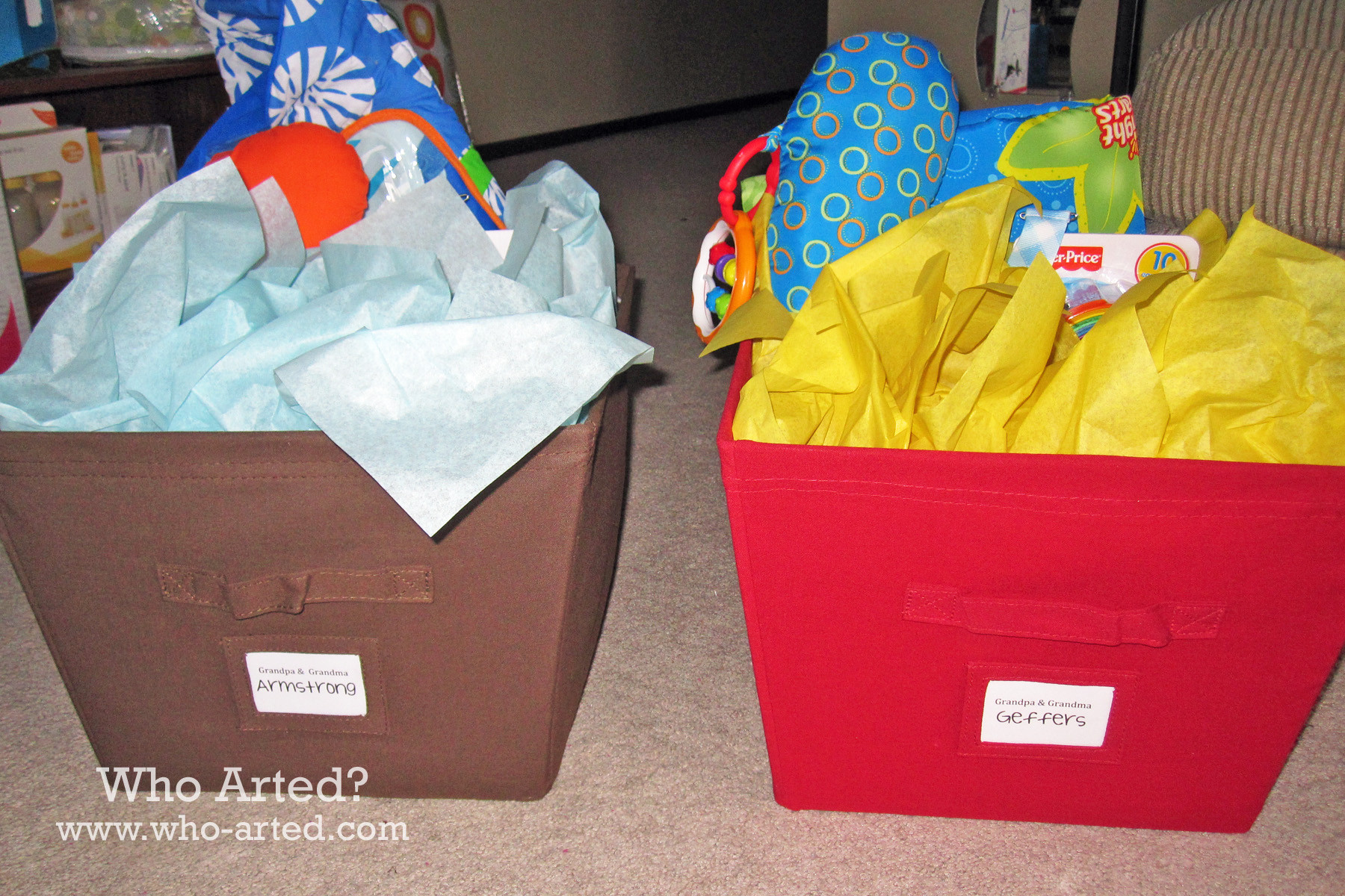 Best ideas about Creative Baby Shower Gift Ideas . Save or Pin Creative Baby Shower Gift Ideas Who Arted Now.