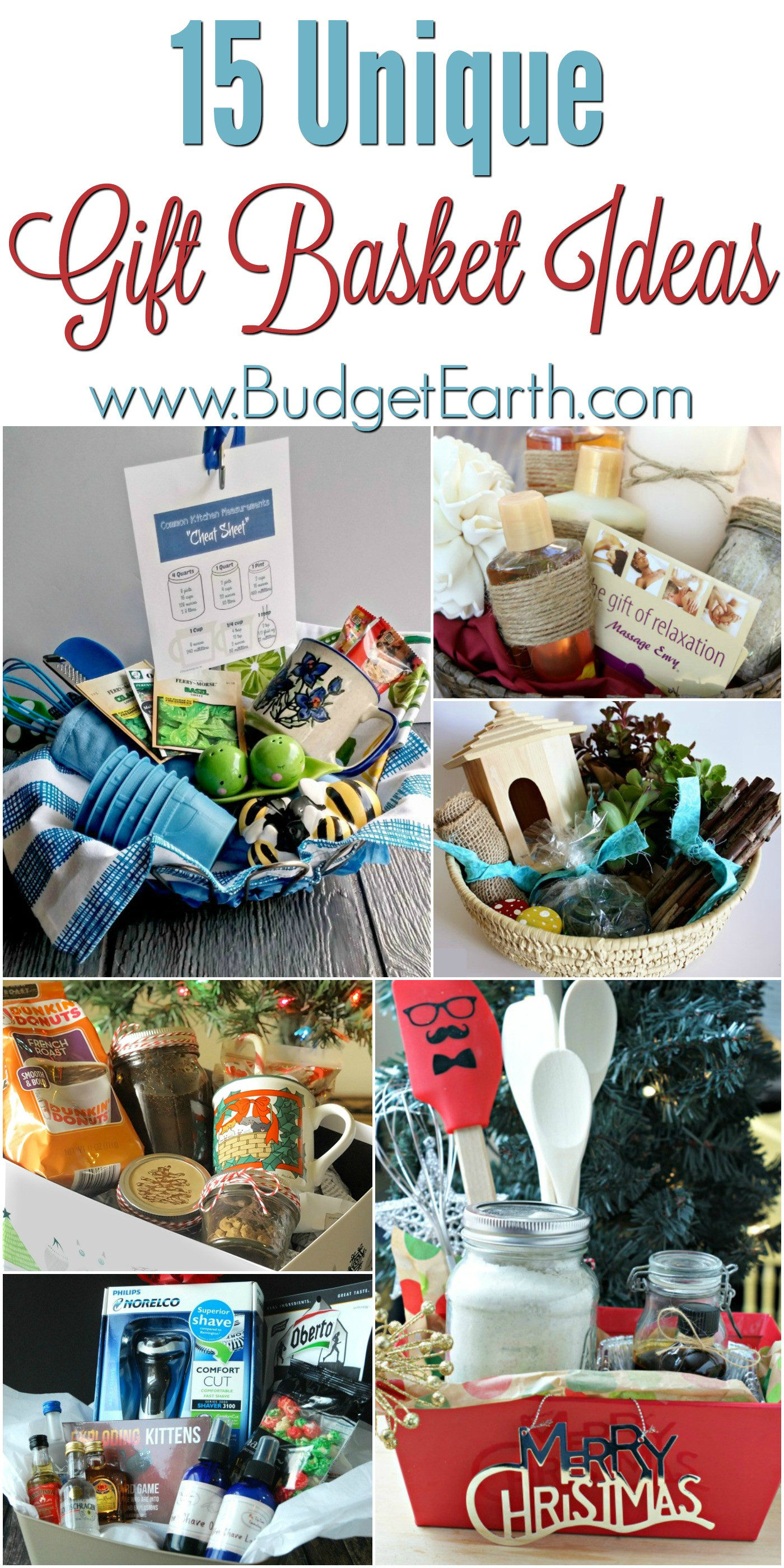 Best ideas about Creative Gift Basket Ideas . Save or Pin 15 Unique Gift Basket Ideas Now.