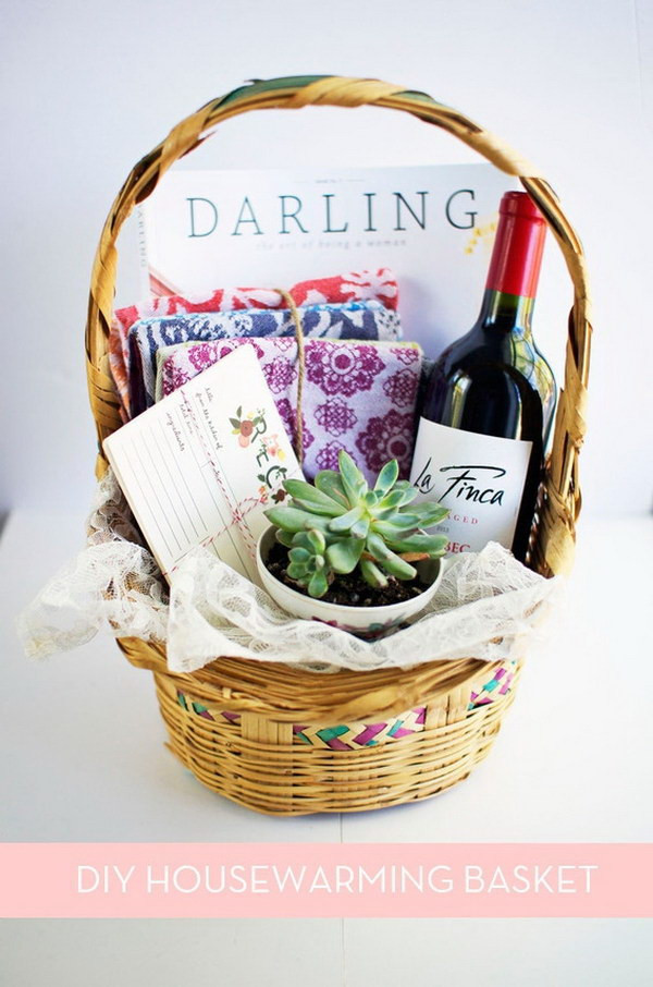 Best ideas about Creative Gift Basket Ideas . Save or Pin 35 Creative DIY Gift Basket Ideas for This Holiday Hative Now.