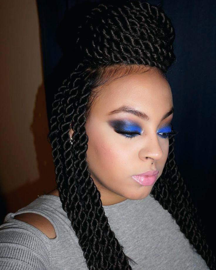 Best ideas about Crochet Senegalese Hairstyles . Save or Pin Senegalese Twist Hairstyles With Shaved Sides HairStyles Now.