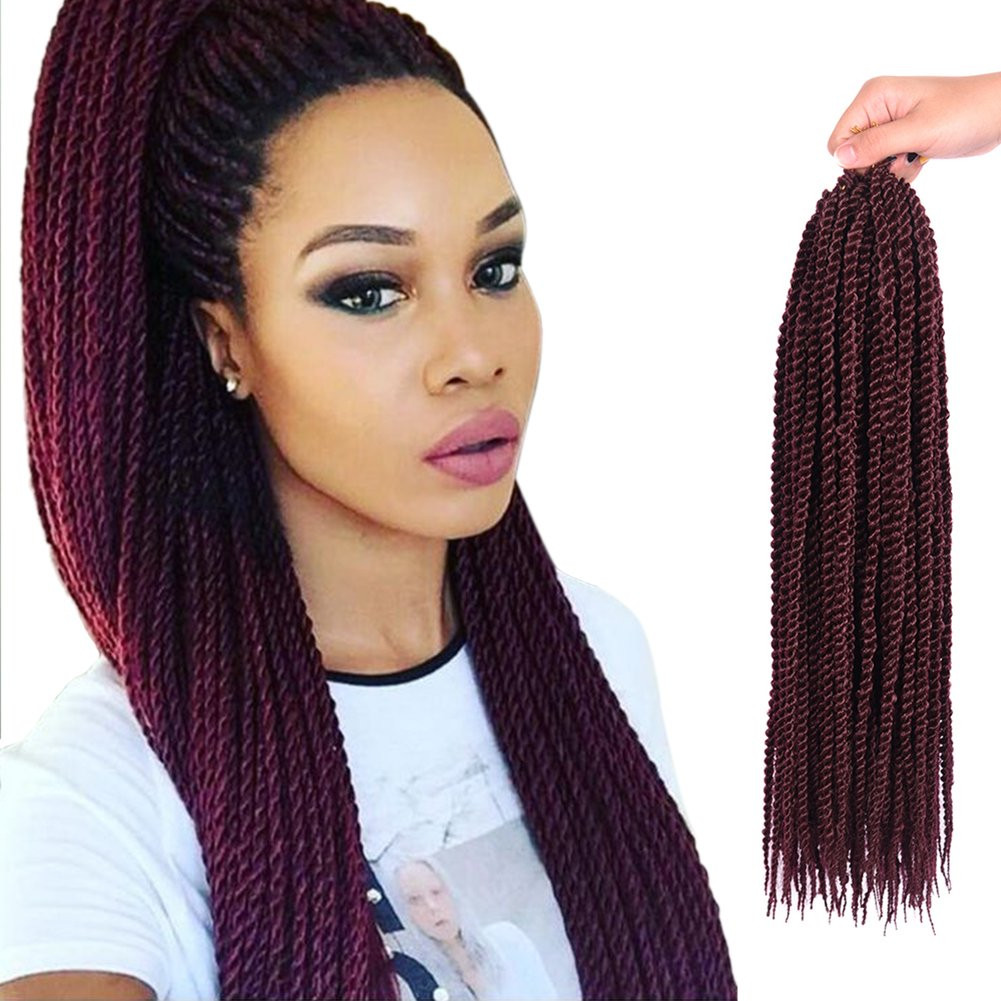 """Best ideas about Crochet Senegalese Hairstyles . Save or Pin Amazon Befunny 8Packs 18"""" Senegalese Twist Crochet Now."""