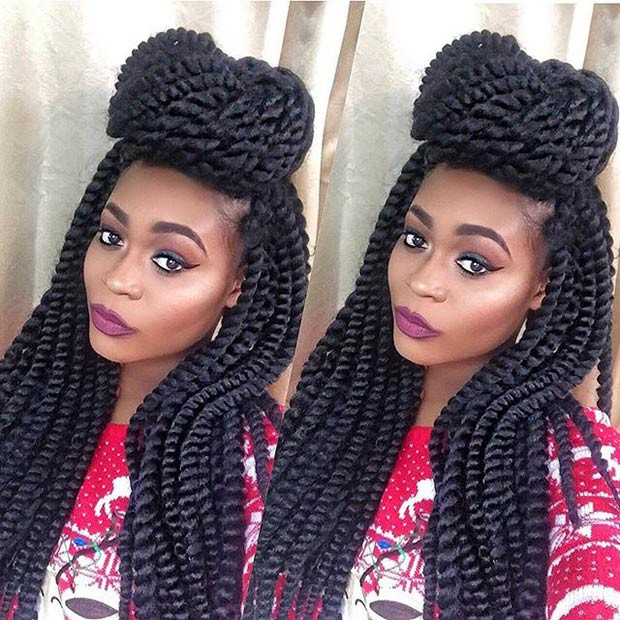 Best ideas about Crochet Twist Hairstyles . Save or Pin 41 Chic Crochet Braid Hairstyles for Black Hair – StayGlam Now.