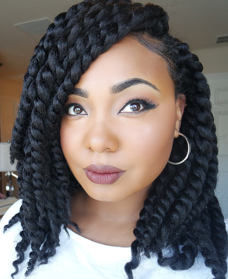 Best ideas about Crochet Twist Hairstyles . Save or Pin How To Easy Braid Pattern For Natural & Versatile Crochet Now.