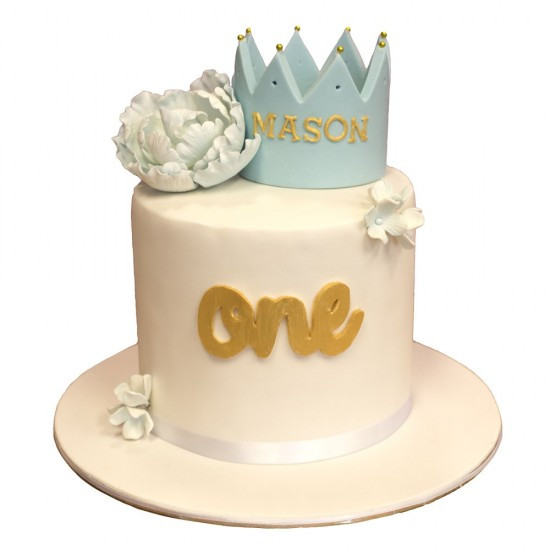 Best ideas about Crown Birthday Cake . Save or Pin Kids Crown Birthday Cake Now.