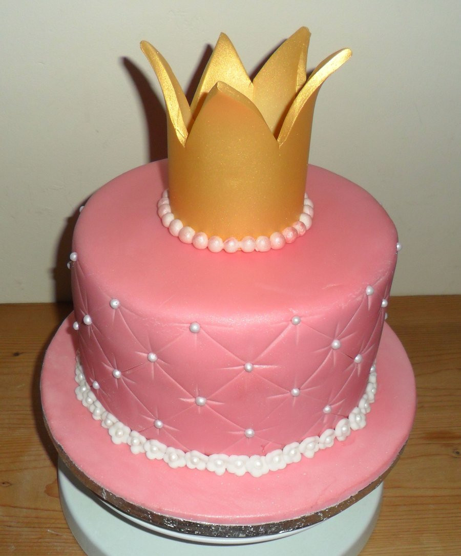 Best ideas about Crown Birthday Cake . Save or Pin Princess crown cake by justli eme on DeviantArt Now.