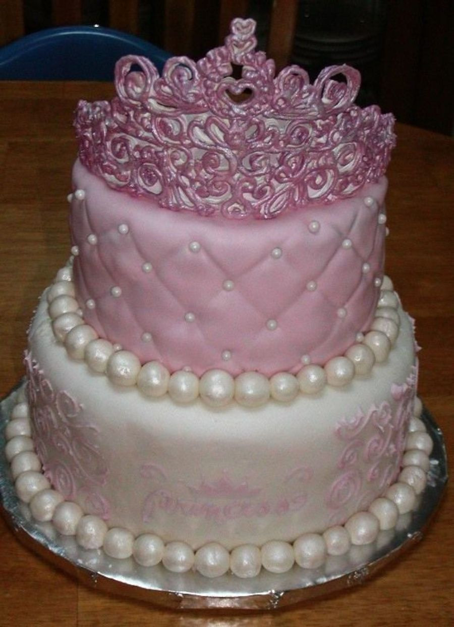 Best ideas about Crown Birthday Cake . Save or Pin Princess Cake CakeCentral Now.