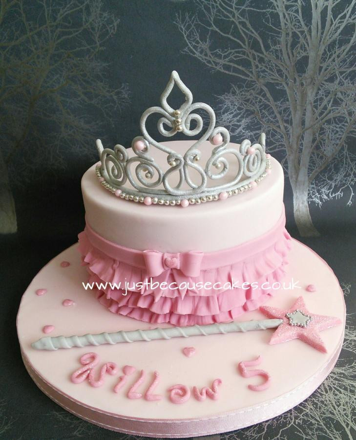 Best ideas about Crown Birthday Cake . Save or Pin Princess Tiara Cake cake by Just Because CaKes CakesDecor Now.