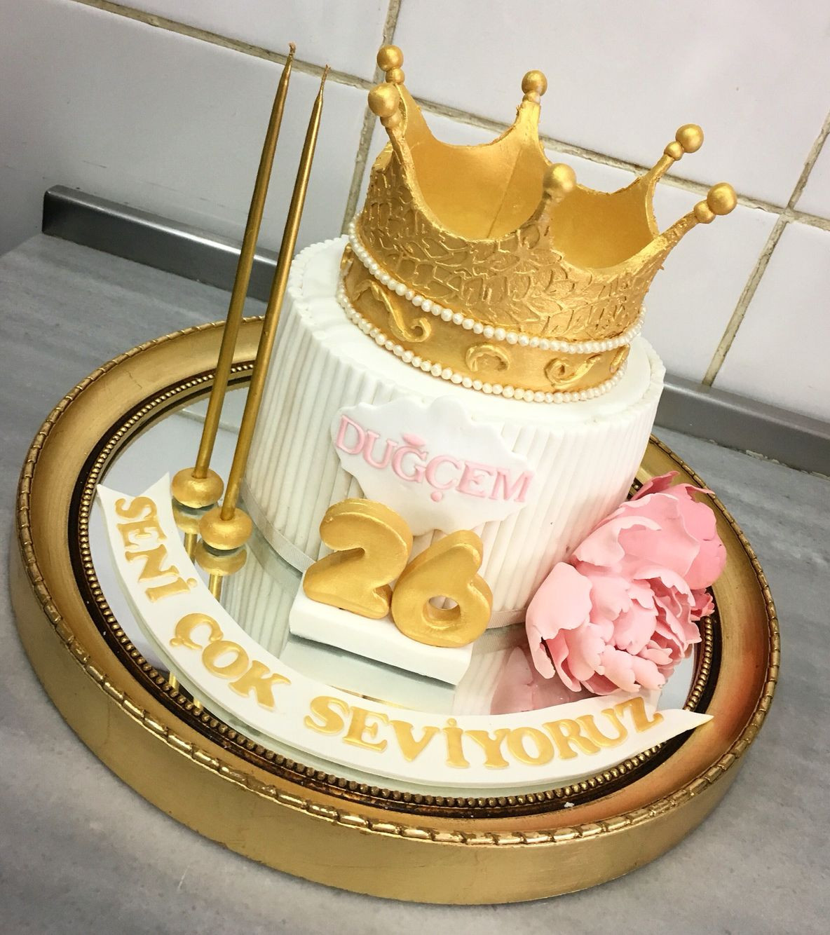 Best ideas about Crown Birthday Cake . Save or Pin queen crown birthday cake Now.