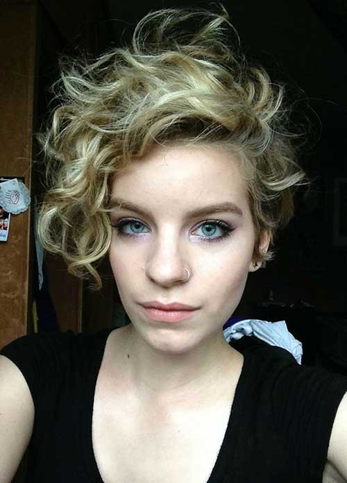 Best ideas about Curly Pixie Hairstyles . Save or Pin Short Curly Pixie Haircuts Now.