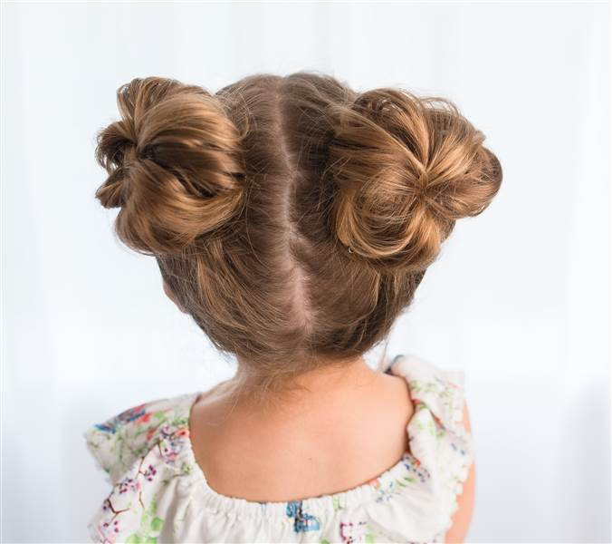Best ideas about Cute Easy Hairstyles For Kids . Save or Pin Easy hairstyles for girls that you can create in minutes Now.