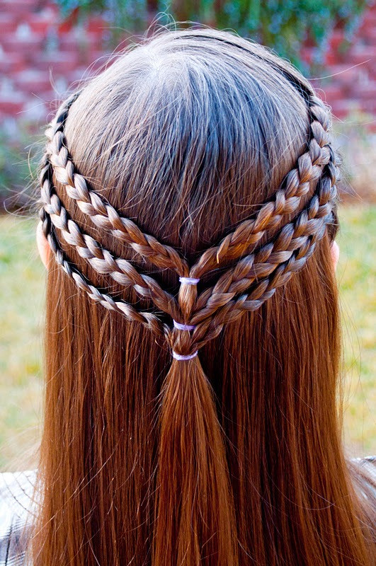 Best ideas about Cute Easy Hairstyles For Kids . Save or Pin 15 Easy Halloween Hairstyles For Kids Now.