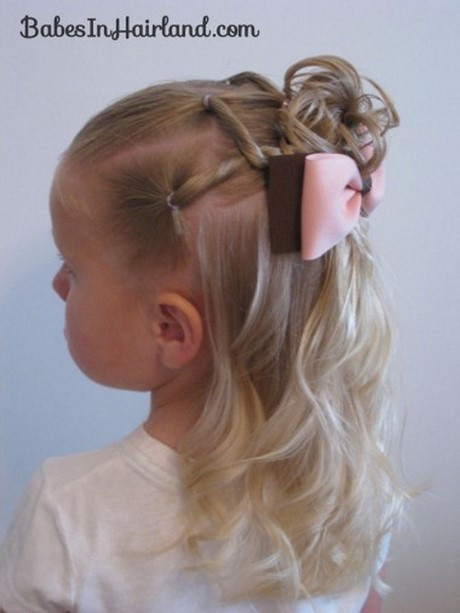 Best ideas about Cute Easy Hairstyles For Kids . Save or Pin Easy hairstyles for kids girls Now.