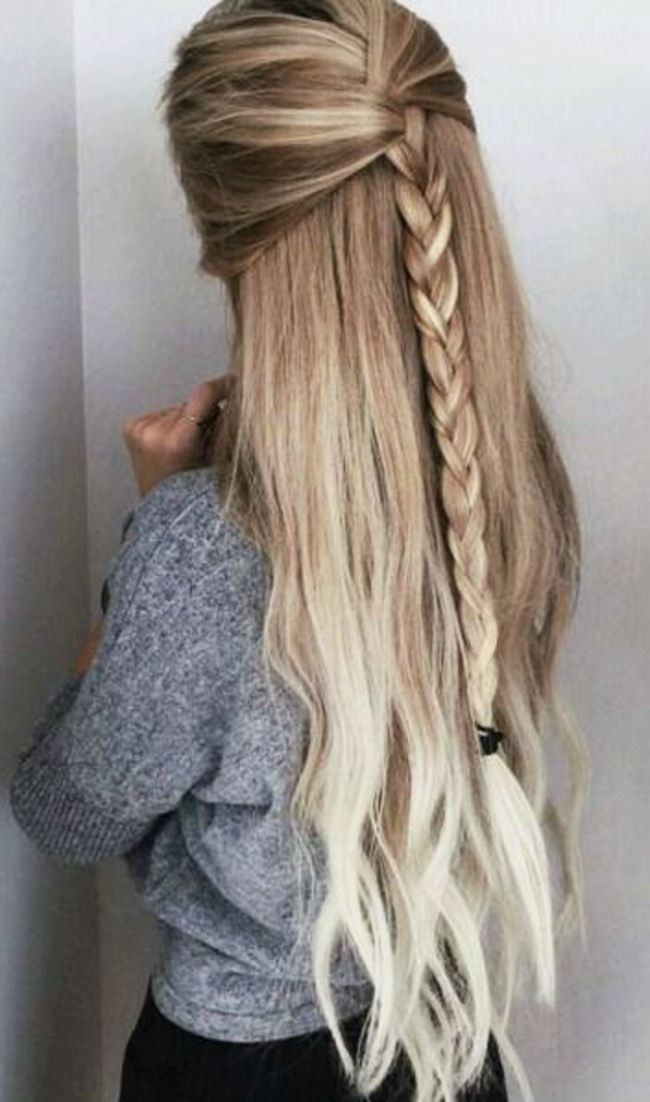 Best ideas about Cute Hairstyles For Long Thin Hair . Save or Pin Cute Easy Party Hairstyles For Long Thick Hair For School Now.