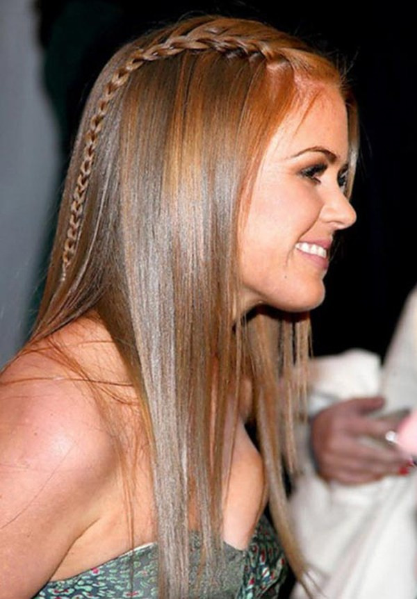 Best ideas about Cute Hairstyles For Straight Long Hair . Save or Pin 40 Fetching Hairstyles for Straight Hair Now.