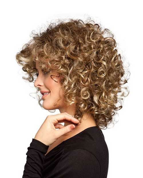 Best ideas about Cute Hairstyles For Thick Curly Hair . Save or Pin 16 Short Hairstyles for Thick Curly Hair crazyforus Now.