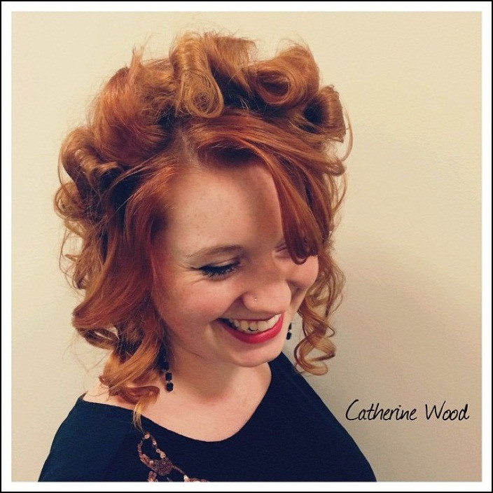 Best ideas about Cute Hairstyles For Thick Curly Hair . Save or Pin pretty hairstyles for medium thick hair Hollywood ficial Now.