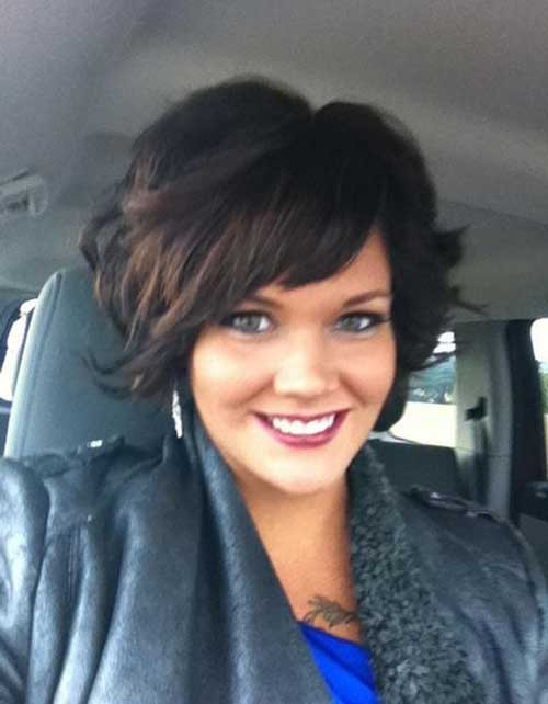 Best ideas about Cute Hairstyles For Thick Curly Hair . Save or Pin New Cute Hairstyles For Short Wavy Hair Now.