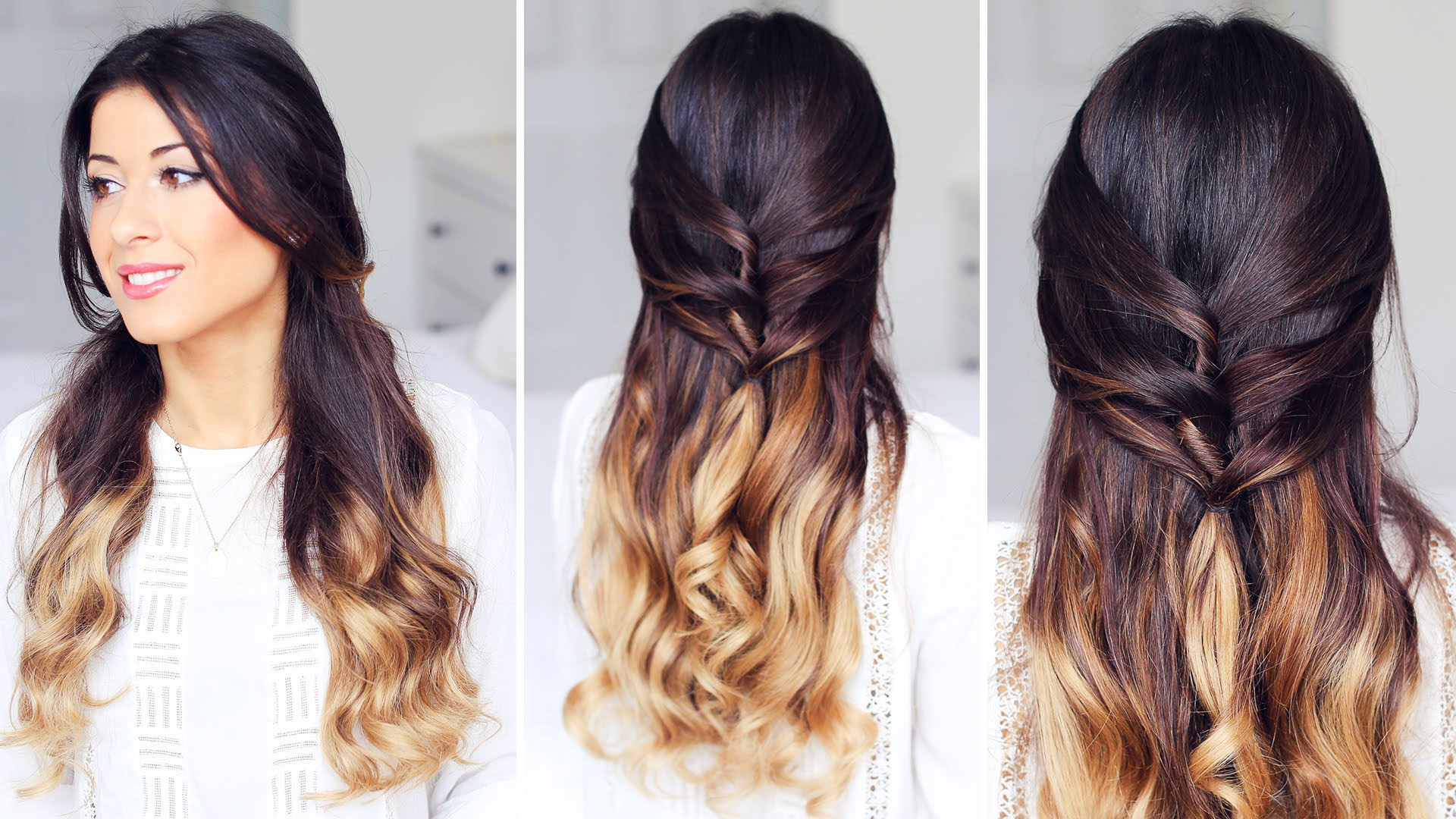 Best ideas about Cute Half Up Half Down Hairstyles . Save or Pin Basic hairstyles for Cute Half Up Half Down Hairstyles Now.