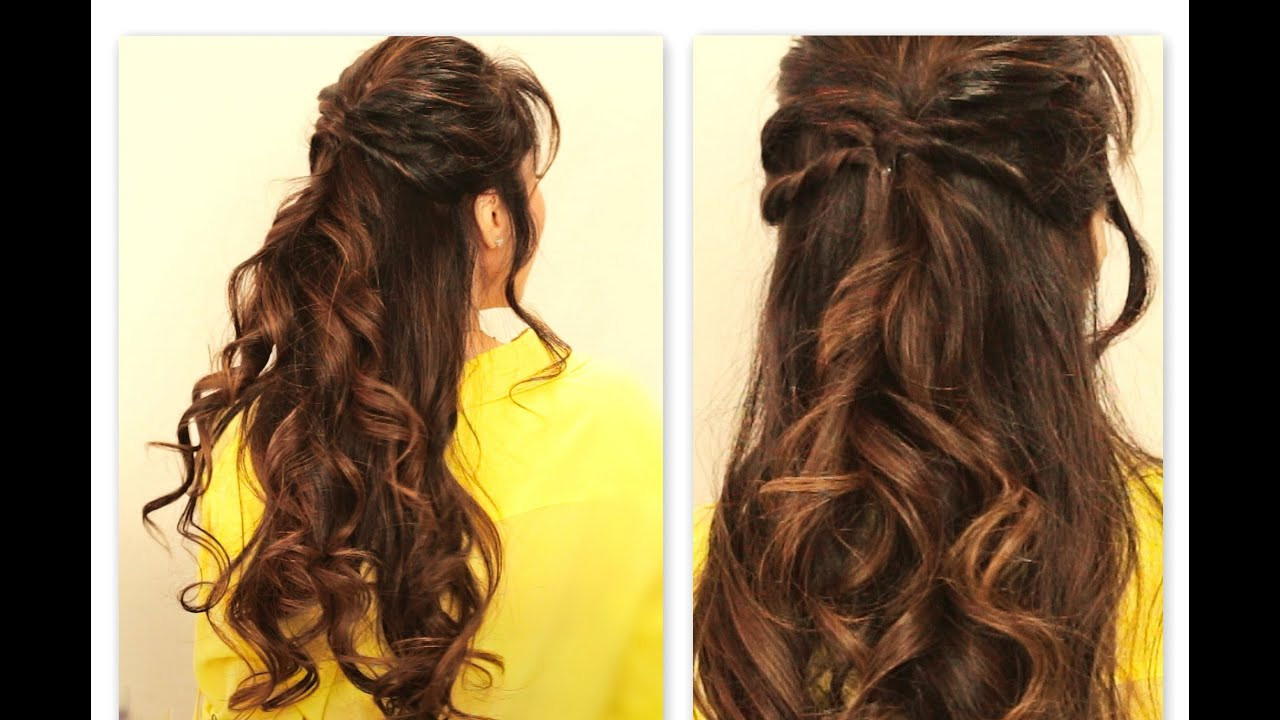 Best ideas about Cute Half Up Half Down Hairstyles . Save or Pin CUTE TWISTED FLIP HALF UP HALF DOWN FALL HAIRSTYLES FOR Now.