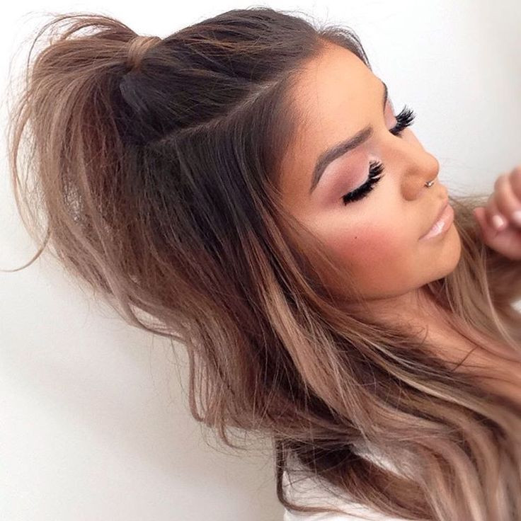 Best ideas about Cute Half Up Half Down Hairstyles . Save or Pin half up Hair Pinterest Now.