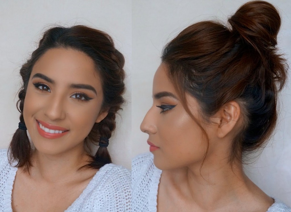 Best ideas about Cute Heatless Hairstyles . Save or Pin 5 Heatless Hairstyles for Short Hair Quick & Easy Now.
