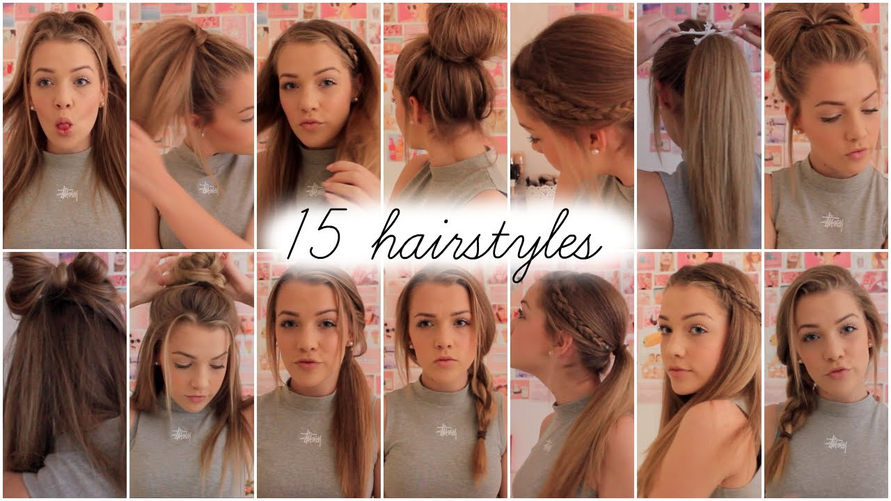 Best ideas about Cute Heatless Hairstyles . Save or Pin 60 Back To School Heatless Hairstyles K4 Fashion Now.