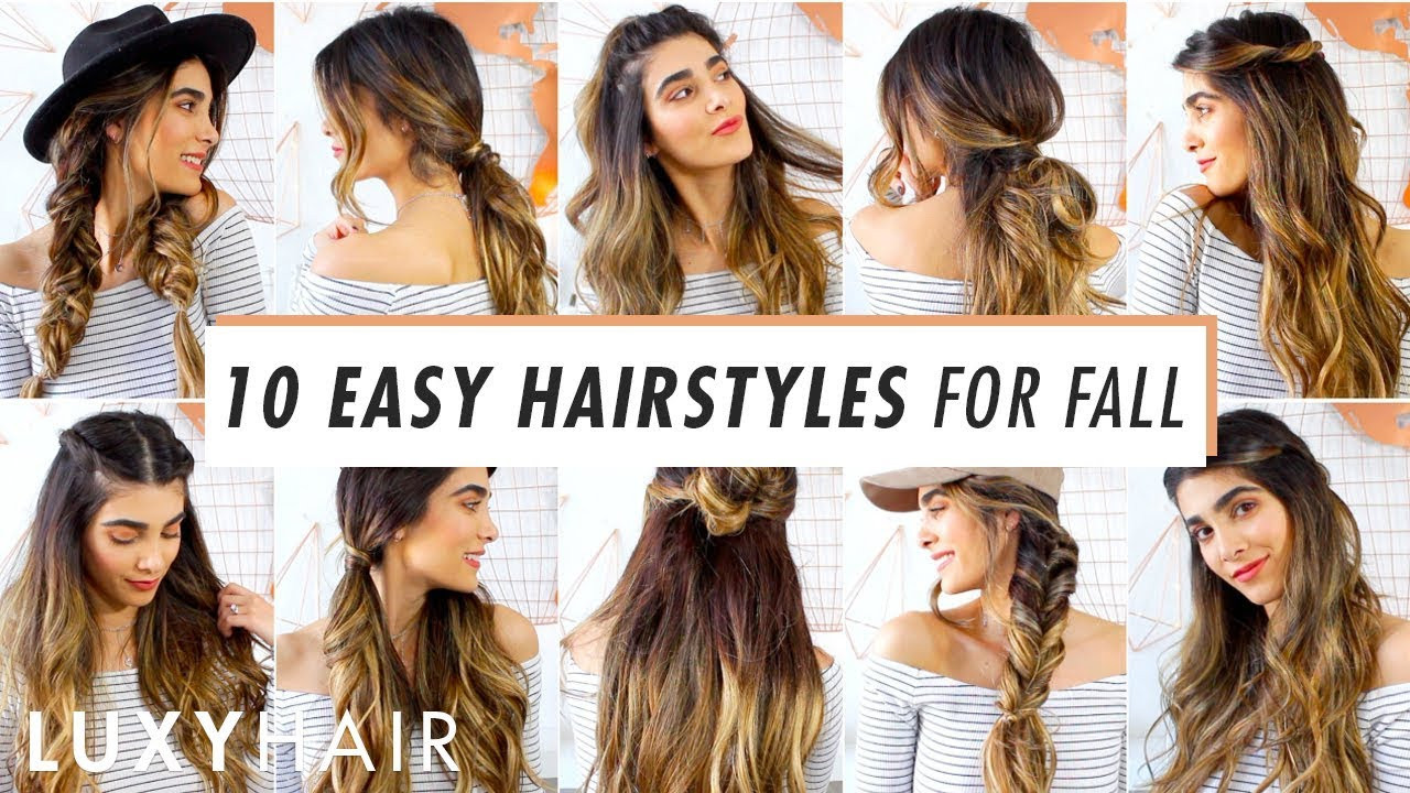 Best ideas about Cute Heatless Hairstyles . Save or Pin 10 Heatless Hairstyles for Fall Now.