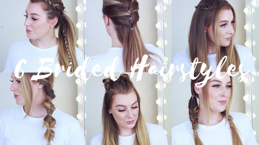 Best ideas about Cute Heatless Hairstyles . Save or Pin 6 Cute & Easy Braided Heatless Hairstyles Now.