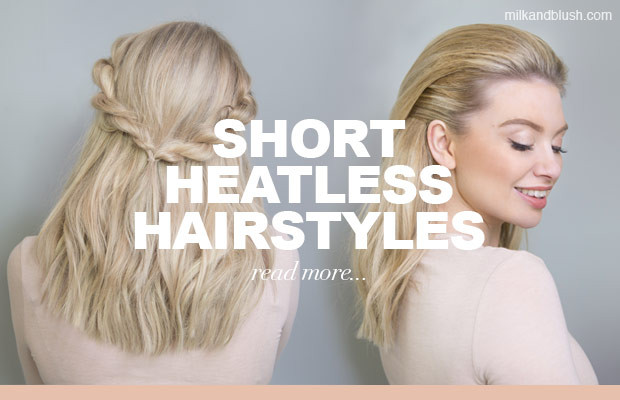 Best ideas about Cute Heatless Hairstyles . Save or Pin Hairstyles Hair Extensions Blog Now.