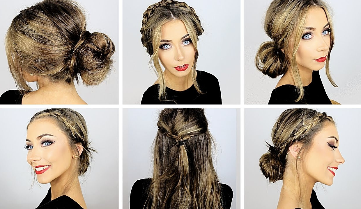 Best ideas about Cute Heatless Hairstyles . Save or Pin Easy Cute Hairstyle For Work HairStyles Now.