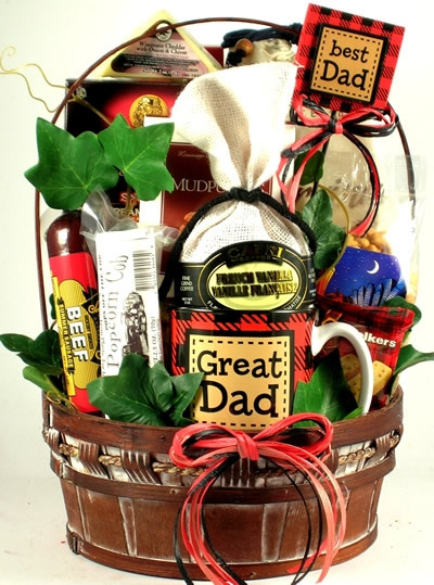 Best ideas about Dad Gift Basket Ideas . Save or Pin Great Dad Basket Fathers Day Gifts Now.