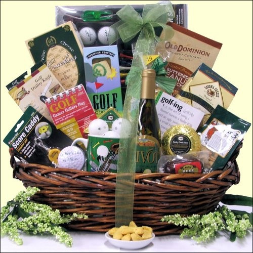Best ideas about Dad Gift Basket Ideas . Save or Pin 28 best images about Golf basket for Tyler s Dad on Now.