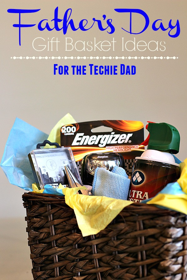 Best ideas about Dad Gift Basket Ideas . Save or Pin Father s Day Gift Basket Ideas for the Techie Dad The Now.