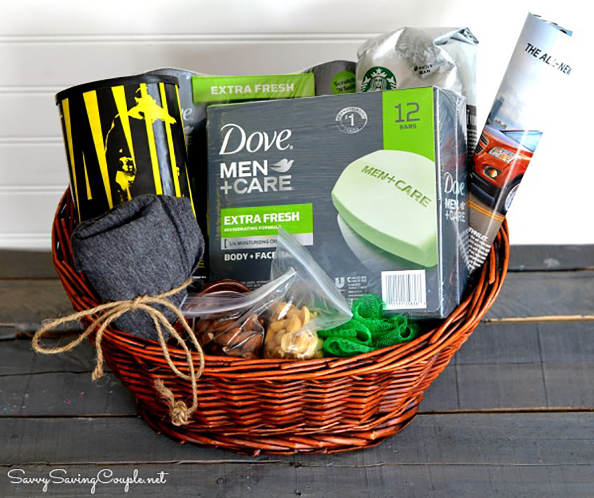 Best ideas about Dad Gift Basket Ideas . Save or Pin Homemade Gift Basket Ideas For Father S Day – Homemade Ftempo Now.