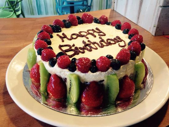 Best ideas about Dairy Free Birthday Cake . Save or Pin Gluten free birthday cake made to order Picture of Eden Now.