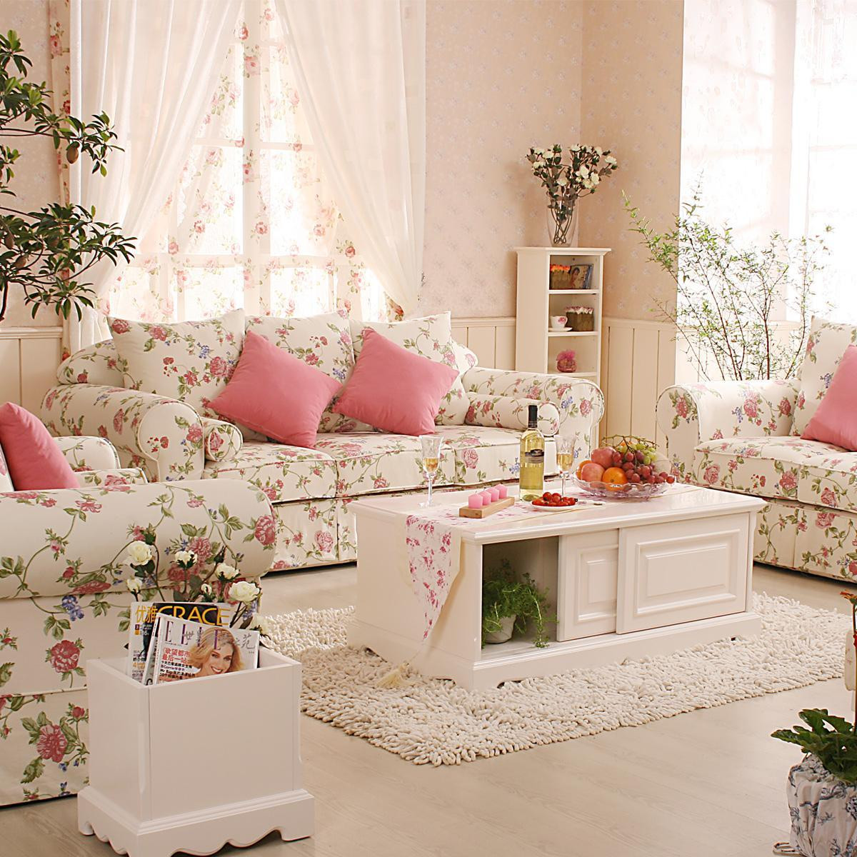 Best ideas about Decorating A Living Room . Save or Pin Romantic Living Room Ideas Interior Design Inspirations Now.