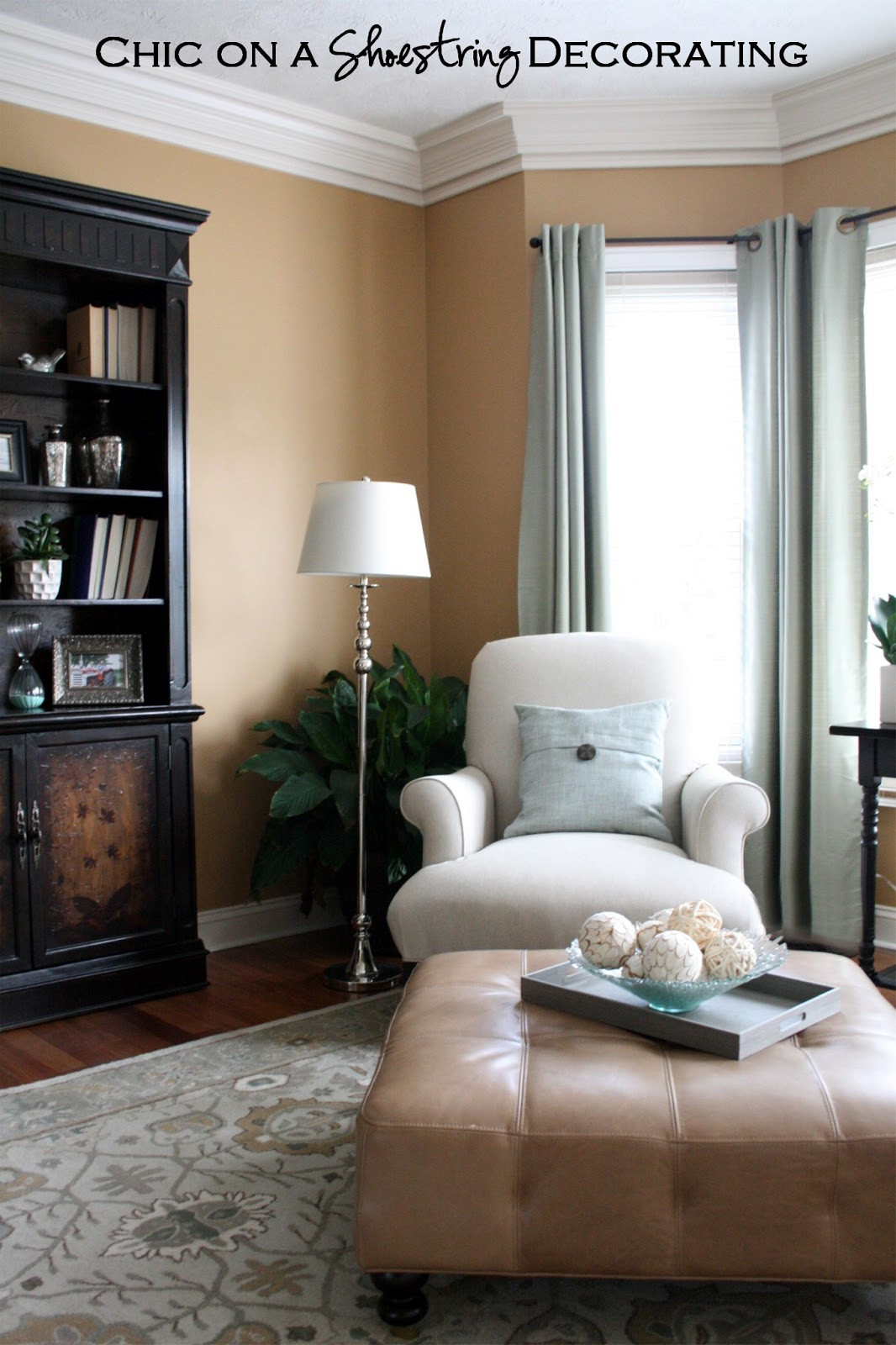 Best ideas about Decorating A Living Room . Save or Pin Chic on a Shoestring Decorating Grand Piano Living Room Now.