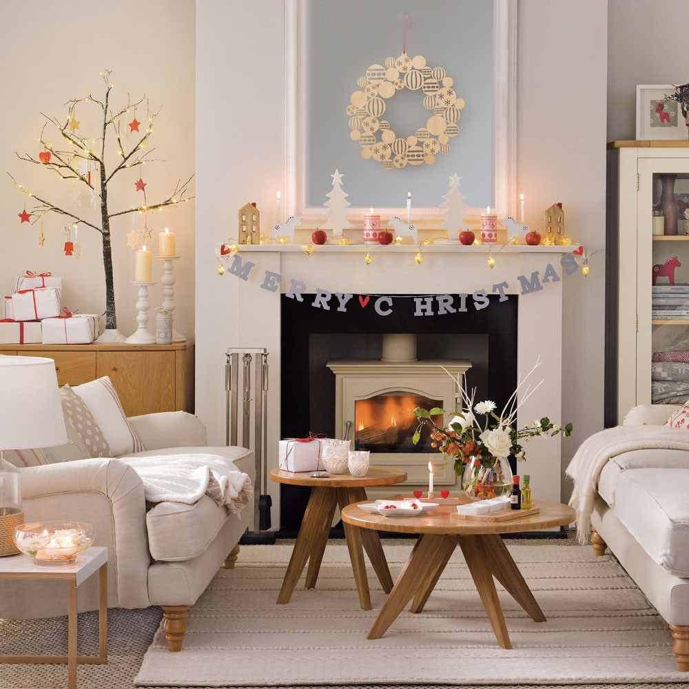 Best ideas about Decorating A Living Room . Save or Pin Bud Christmas decorating ideas Now.