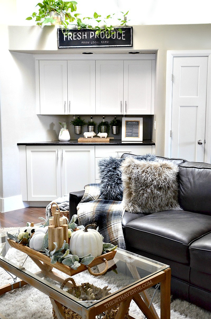 Best ideas about Decorating A Living Room . Save or Pin Living Room Farmhouse Decor Ideas The 36th AVENUE Now.