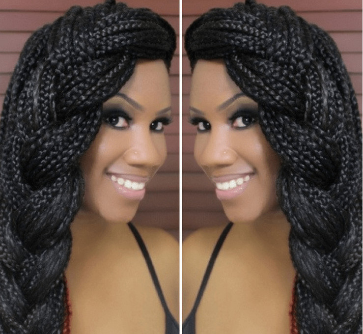 Best ideas about Different Hairstyles For Box Braids . Save or Pin Box Braids Hairstyles Tutorials Hair to Use Care Now.