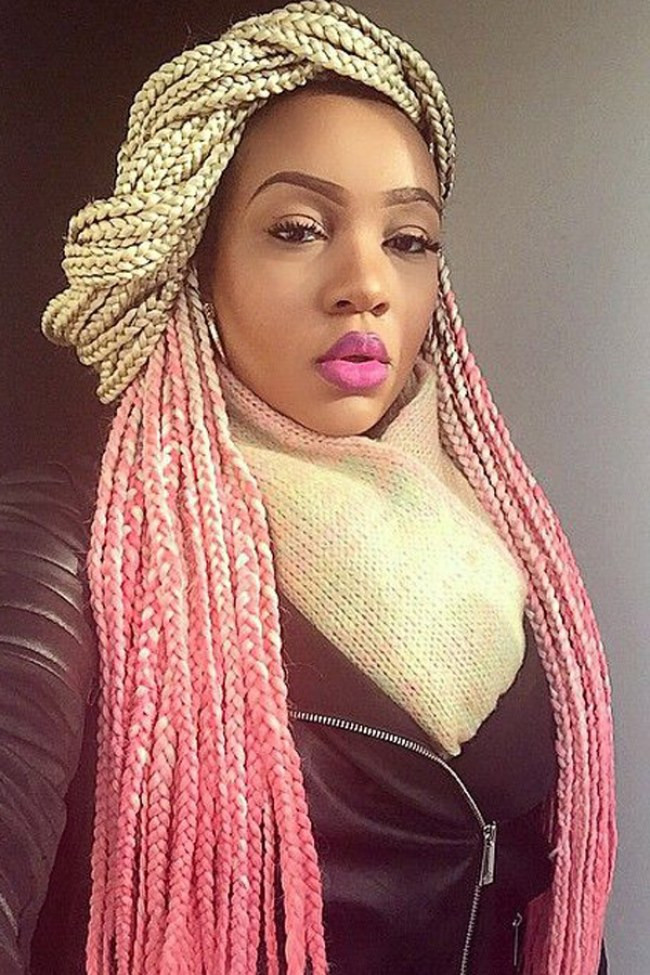 Best ideas about Different Hairstyles For Box Braids . Save or Pin Cool Box Braids Hairstyles 2016 Now.