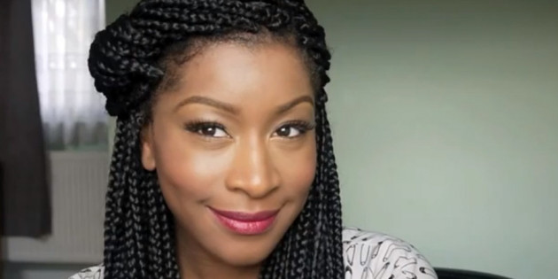 Best ideas about Different Hairstyles For Box Braids . Save or Pin Using black temporary hair dye on box braids Hair Now.