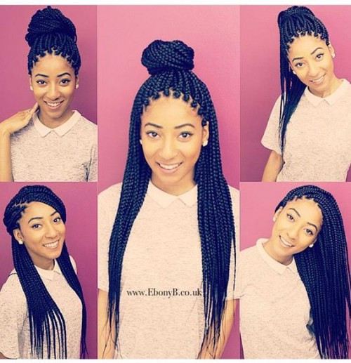 Best ideas about Different Hairstyles For Box Braids . Save or Pin 50 Ghana Braids Styles Now.