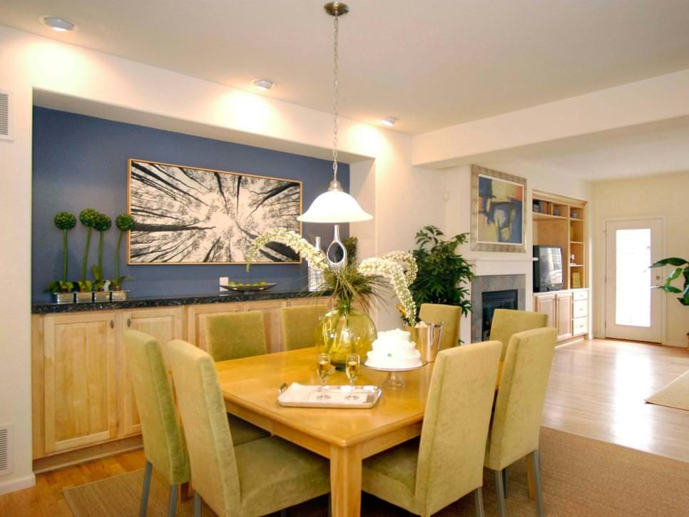 Best ideas about Dining Room Accent Wall . Save or Pin 23 Dining Room Wall designs Decor Ideas Now.